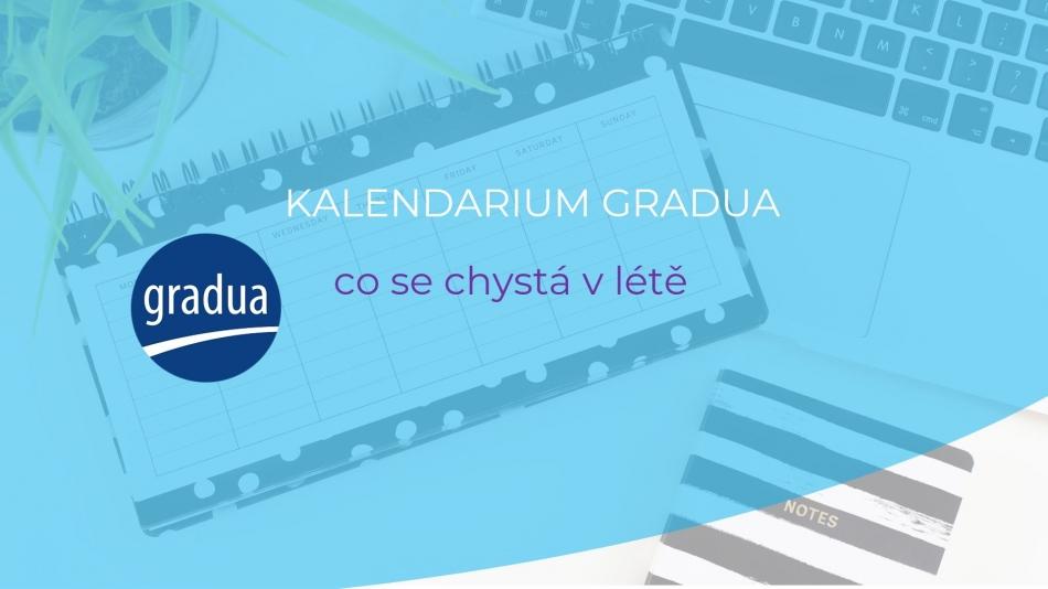Video kalendárium Gradua - červenec 2021