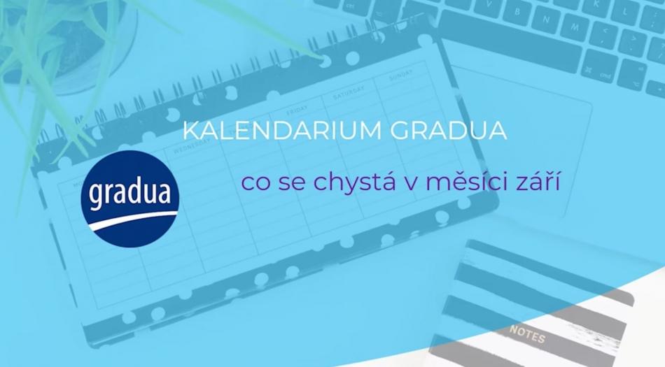 Video kalendárium Gradua - září 2021