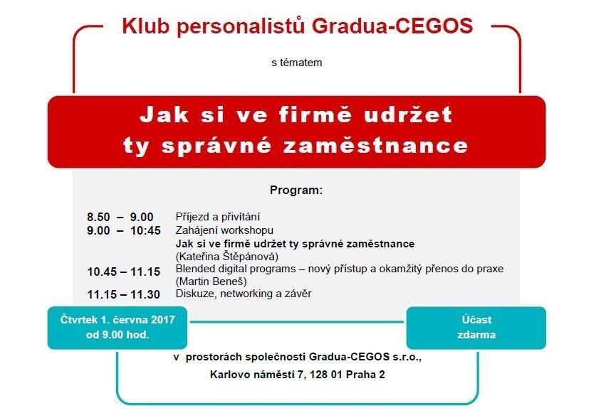 Program setkání personalistů